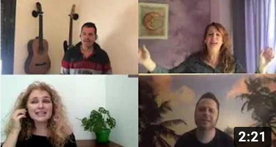 Video Cantants Confinament Beyond the sea